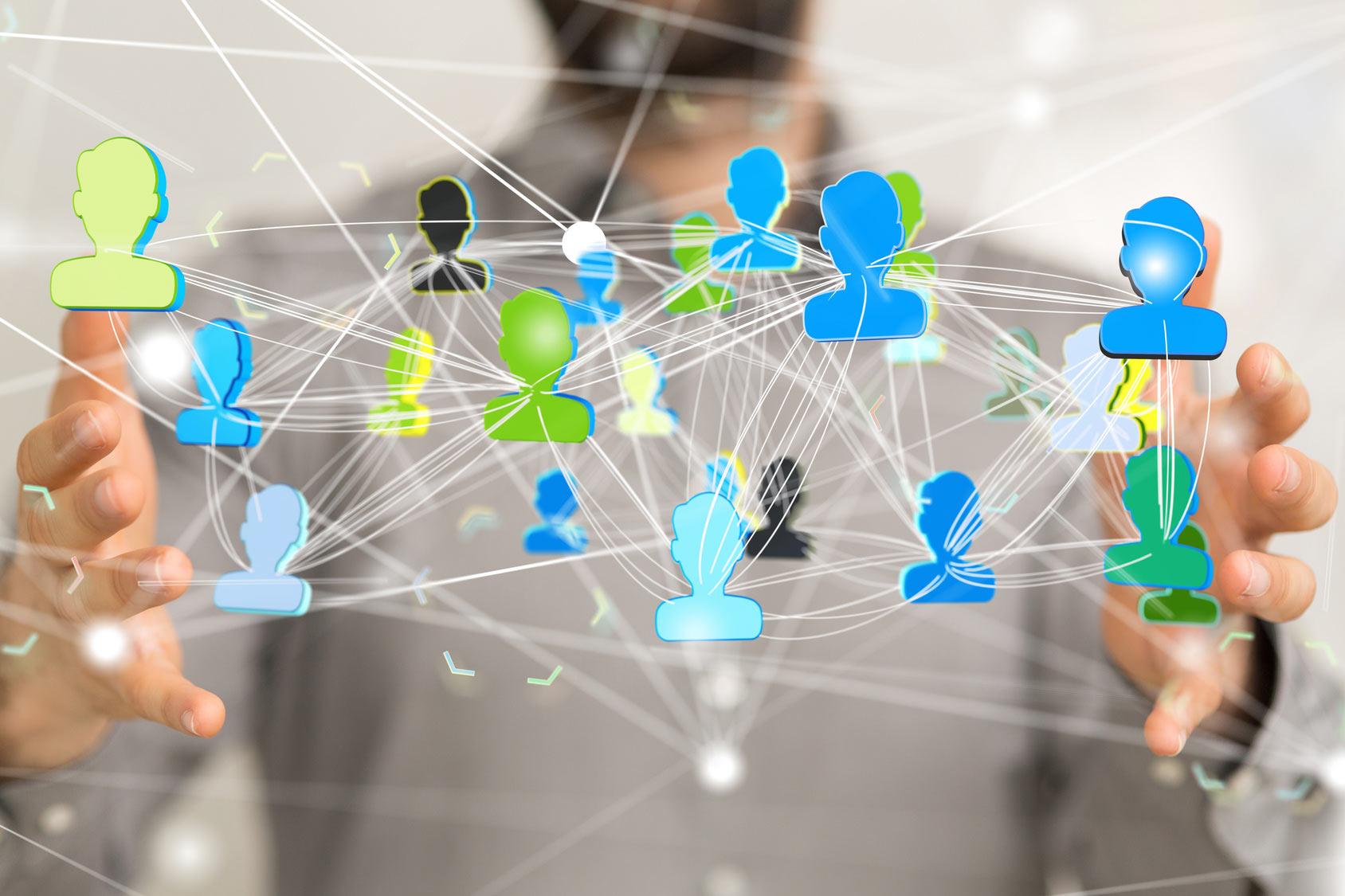 Immobilienwerbung Netzwerk