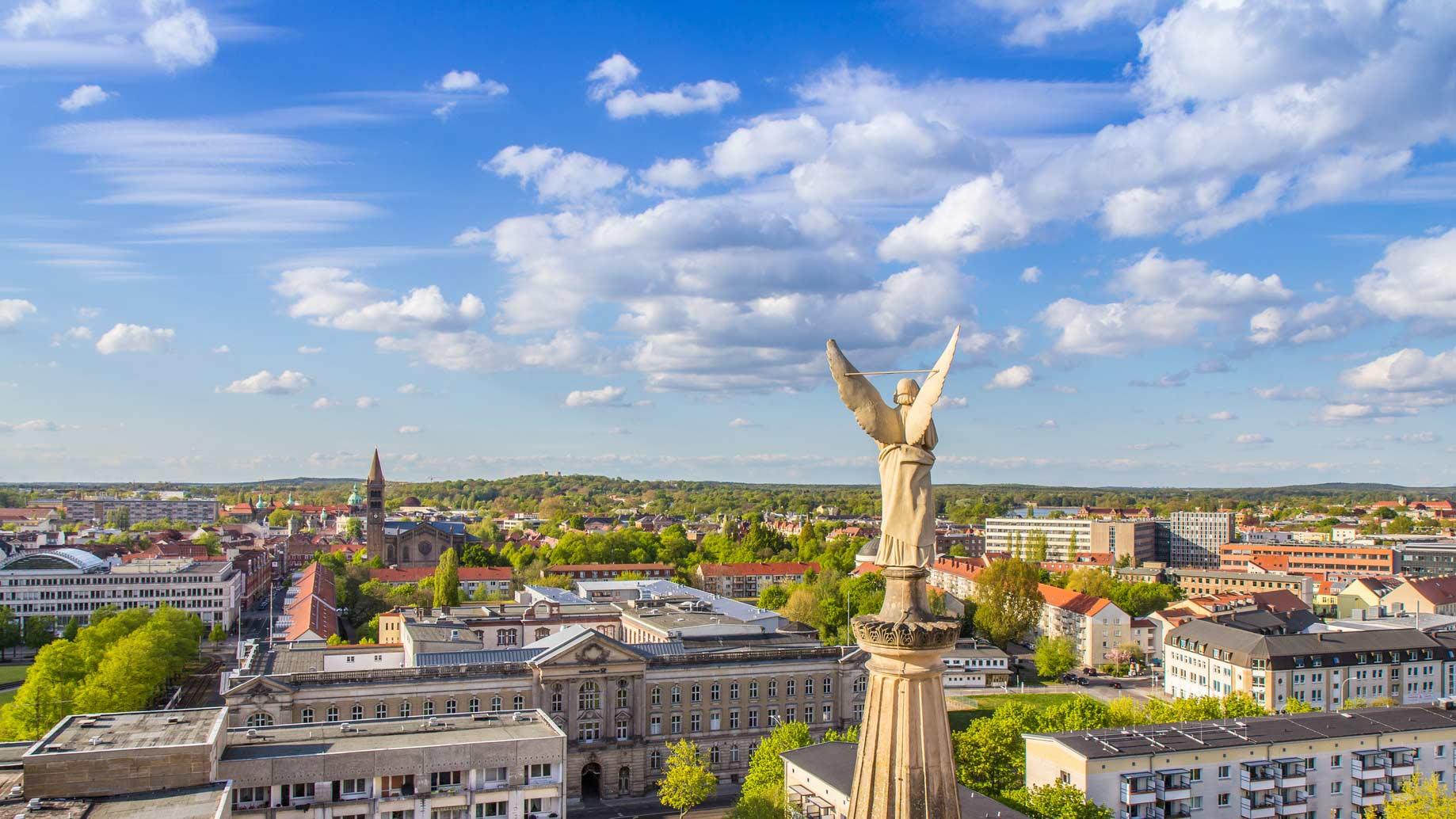 Immobilien-Potsdam Vogelperspektive